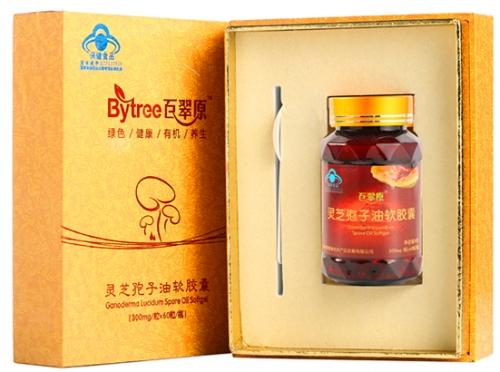 灵芝孢子油软胶囊  单瓶装