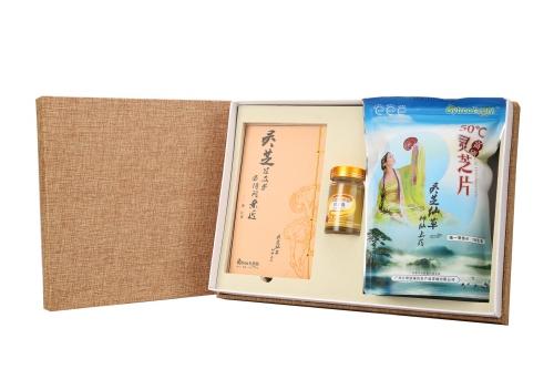 佛山礼盒(百翠原灵芝片+灵芝孢子油)